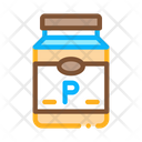 Soy Protein Bottle Icon