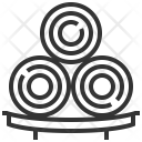 Spa Towels Clean Icon