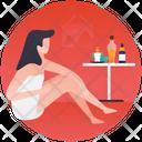 Aromatherapy Spa Services Salon Icon