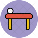 Spa Bed Relaxation Icon