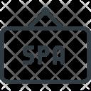 Spa Hanger Hang Icon