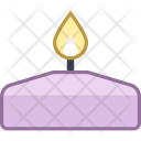 Spa Candle Icon