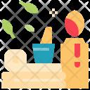 Spa Treatment Set Icon