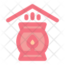 Spa At Home Fire Place Fire Icon