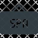 Spa Board Hanger Icon
