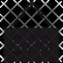 Spa Board Pa Sign Tag Icon