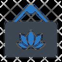 Spa Board Sign Icon