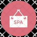 Spa Board Saloon Beauty Icon