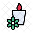 Candle Spa Aromatherapy Icon