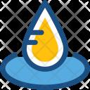 Spa Water Drop Icon