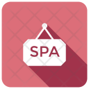 Spa Hanging Board Icon