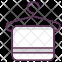 Spa Sauna Towel Icon