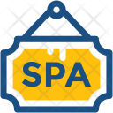 Spa Signboard Icon