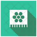 Spa Towel Flower Towel Icon