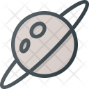 Space Planet Ring Icon