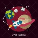 Space Journey Universe Icon