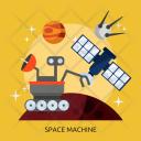 Space Machine Universe Icon