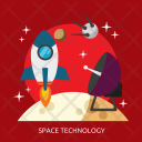 Space Technology Universe Icon
