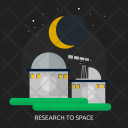 Space Observatory Telescope Icon