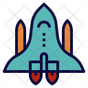 Space Shuttle Spacecraft Icon
