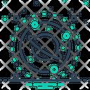 Space Planet Circle Icon