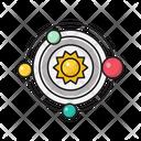 Space Universe Orbit Icon