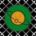 Moon Space Satellite Icon