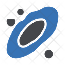 Space Astronomy Rocket Icon