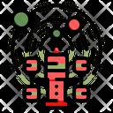 Space Spaceship Satellite Icon