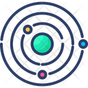 Astronomy Planet Space Icon
