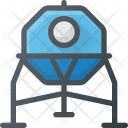 Space Cabin Icon