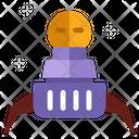 Space Capsule Satellite Astronomy Icon