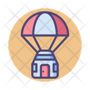 Mspace Capsule Space Capsule Delivery Icon