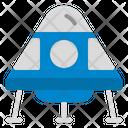 Space Capsule Spaceship Astronomy Icon