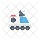 Satellite Dish Broadcast Icon