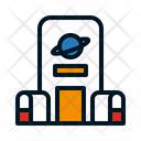 Space Center Space Station Nasa Icon