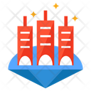 Space Colony Extraterrestrial Colony Colonization Icon