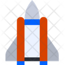 Space Craft Spaceship Missile Icon