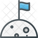 Space Discovery Flag Icon