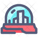 Space Dome Home Icon