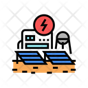 Space Energy Station Energy Station Icon