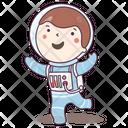 Astronaut Spaceman Cosmonaut Icon