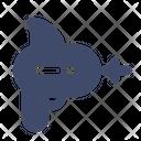 Gun Space Weapon Icon
