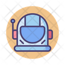 Space Helmet Astronaut Helmet Icon