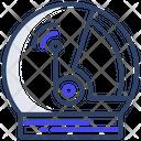 Space Helmet Headgear Head Protector Icon