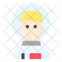 Space Man Icon