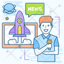 Space News Icon