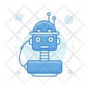 Space Robot Robot Assistant Robot Helper Icon