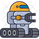 Mspace Robot Space Robot Robonaut Icon