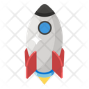 Startup Missile Space Rocket Icon